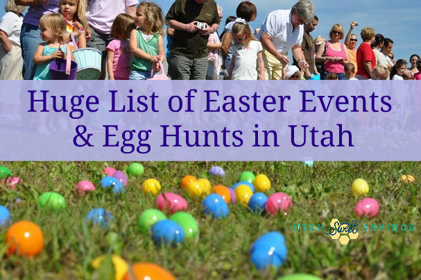 Easter egg huts in utah