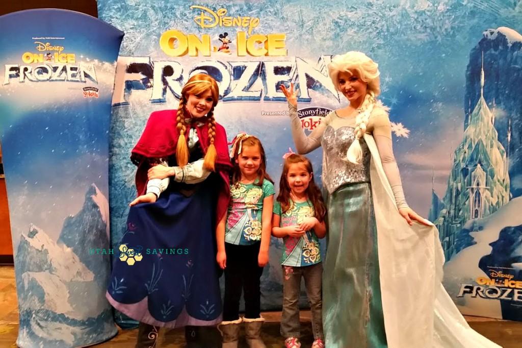 Girls with Frozen