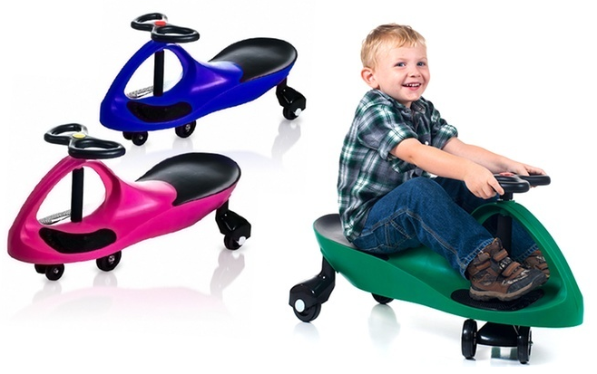 Lil' Rider Wiggle Ride-on Cars