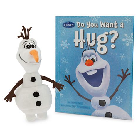 Olaf Hide and Hug Plush and Book Set