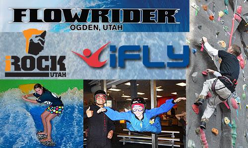 Pass for IFly, Flowrider & iRock Adventure