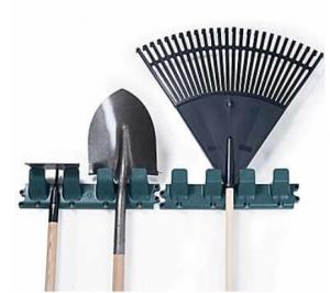 Stalwart Garden Tool Hangers, Set of Two