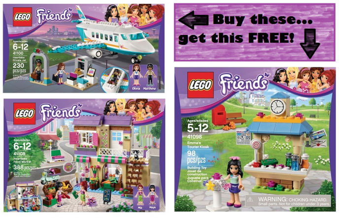 TARGET lego friends deal