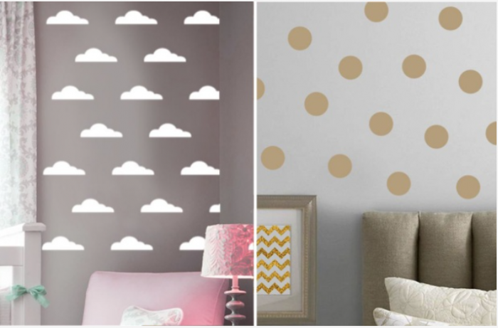 Vinyl Home Decor Wall Decals - 10 Styles!