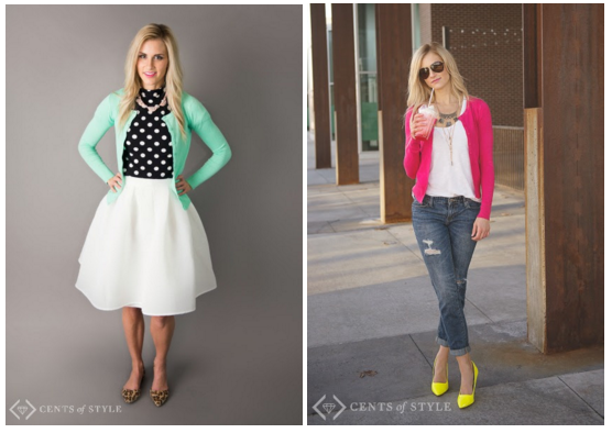 cents of style cardigans