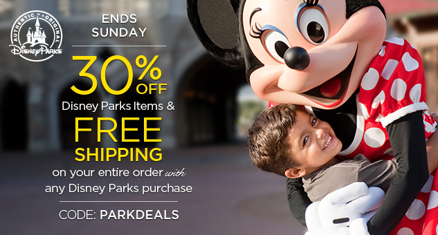 disney parks free shipping offer