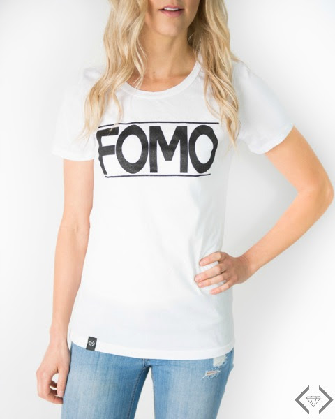 fear of missing out fomo tee