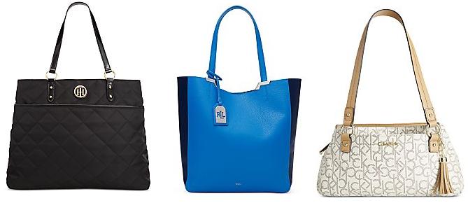 macys designer handbags