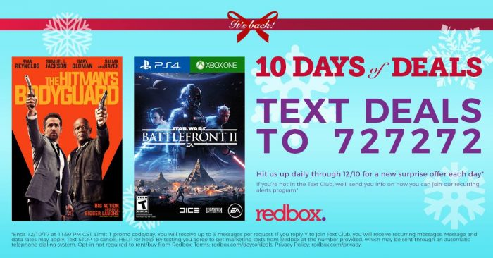 Today's top Redbox Codes: 1 Night Disc Rental on Your Order. See 40 Redbox Codes and Promo Code for December