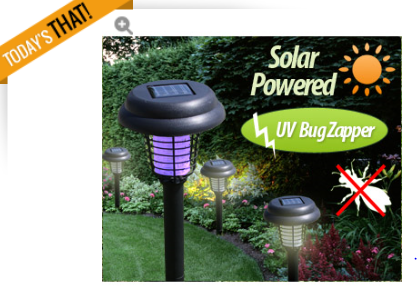 solor bug zapper