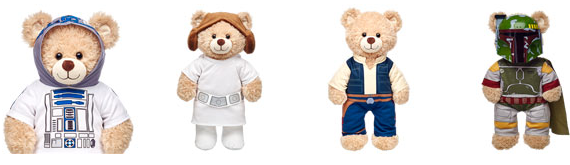 star wars bears clothes