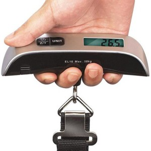 110 lb Capacity Portable Digital Luggage Scale