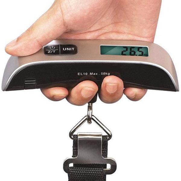 110 lb Capacity Portable Digital Luggage Scale