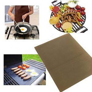 2 Pack of Non-Stick Reusable Grill Sheets