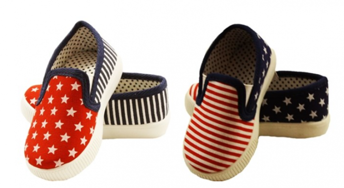 4th of July Stars & Stripes Shoes