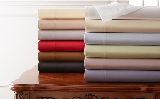 600-Thread-Count Hotel New York Cotton Sheet Sets