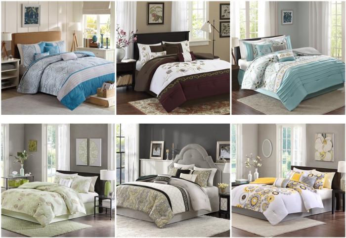 7 piece bedding sets