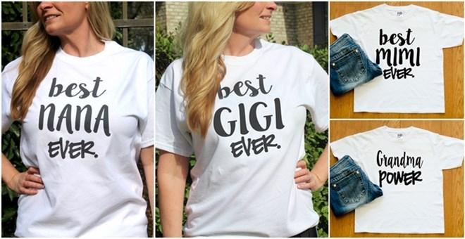 Best Grandma Shirts