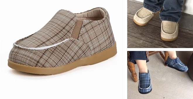 Boys Squeaky Canvas Shoes