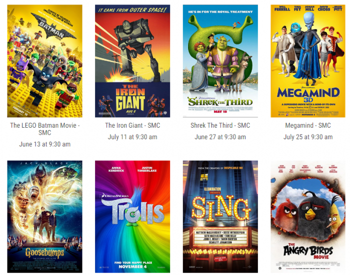 cinemark kid s summer movie clubhouse 10 movies for 5 or