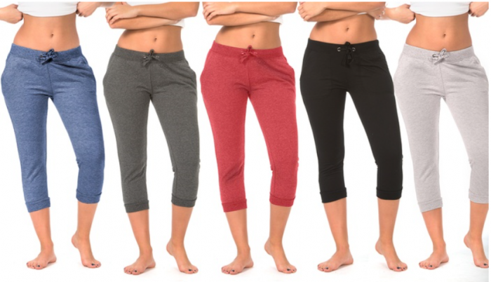 Coco Limon Women's Joggers with Pockets (5-Pack)