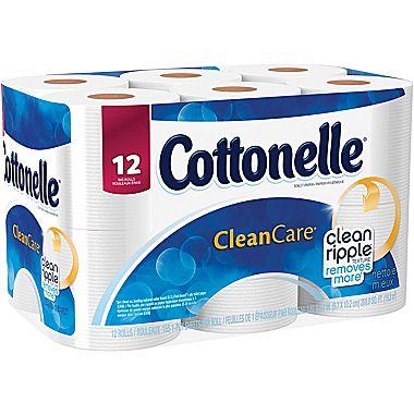 Cottonelle Gentle Clean Care Bath Tissue