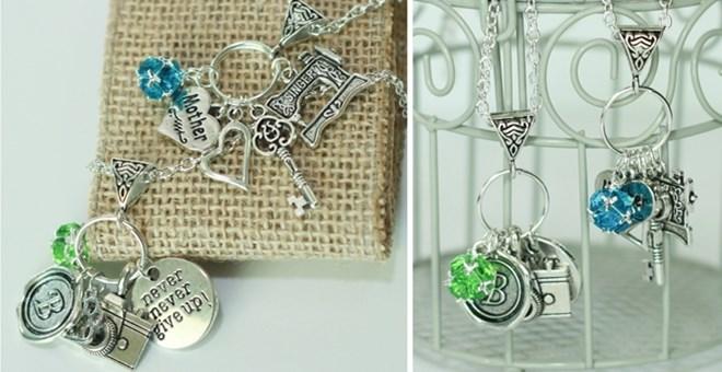 Custom Charm Necklaces