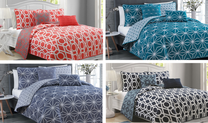 Geometric Reversible Quilt Sets