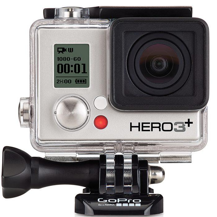 GoPro HERO3+ Silver Edition Camera Manufacturer Refurbished