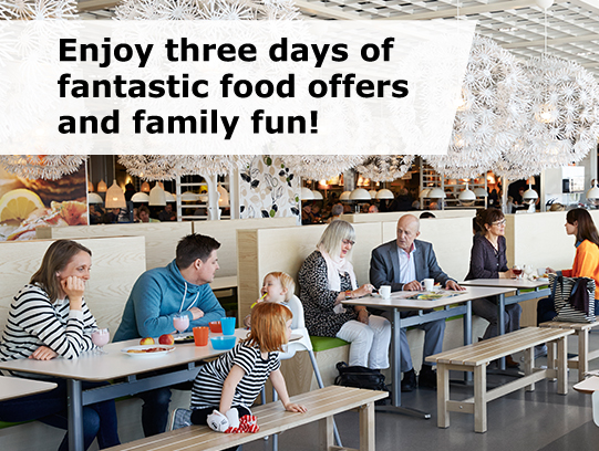 Ikea event enjoy 3 days of freebies deals and family for Ikea draper ut heures