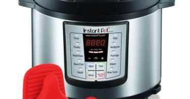 instant-pot-ip-lux60-enw-stainless-steel-6-in-1-pressure-cooker-with-mini-mitts