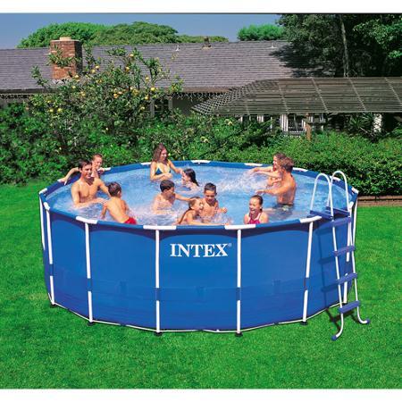Intex 15 X 48 Metal Frame Swimming Pool For 249 Reg Utah Sweet Savings