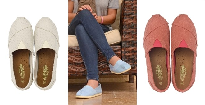 Slip On Colorful Canvas Shoes