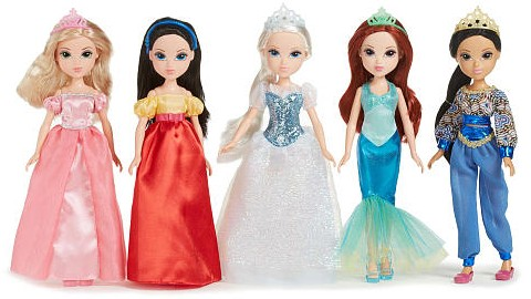 Storytime Princess Collection 5 Pack Doll Set
