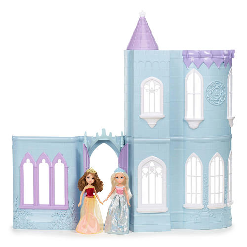 Storytime Princess Collection Ice Castle Dollhouse with 2 Dolls