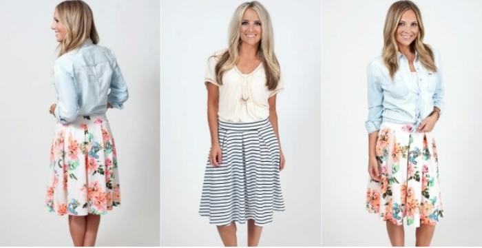Summer A Line Skirts
