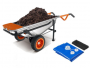 WORX 8-in-1 Aerocart Wheelbarrow Garden Yard Cart + FREE Water Hauler