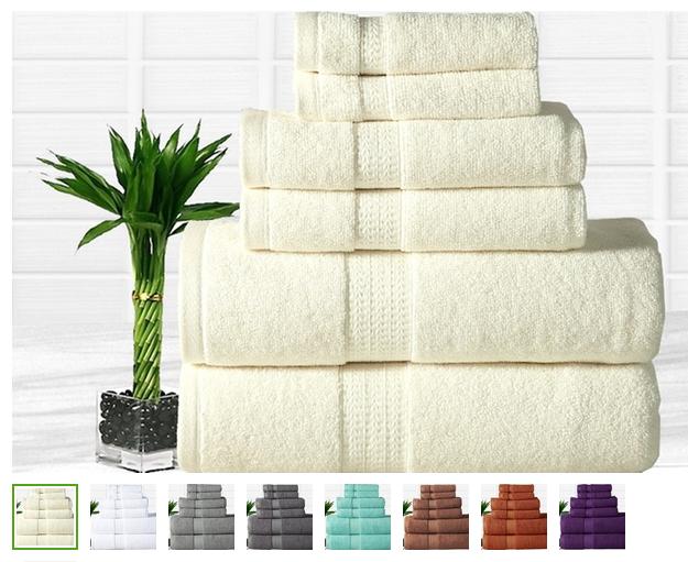 bamboo towel sets