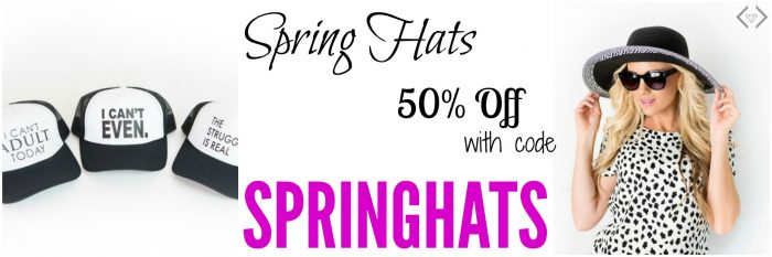 cents of style spring hats