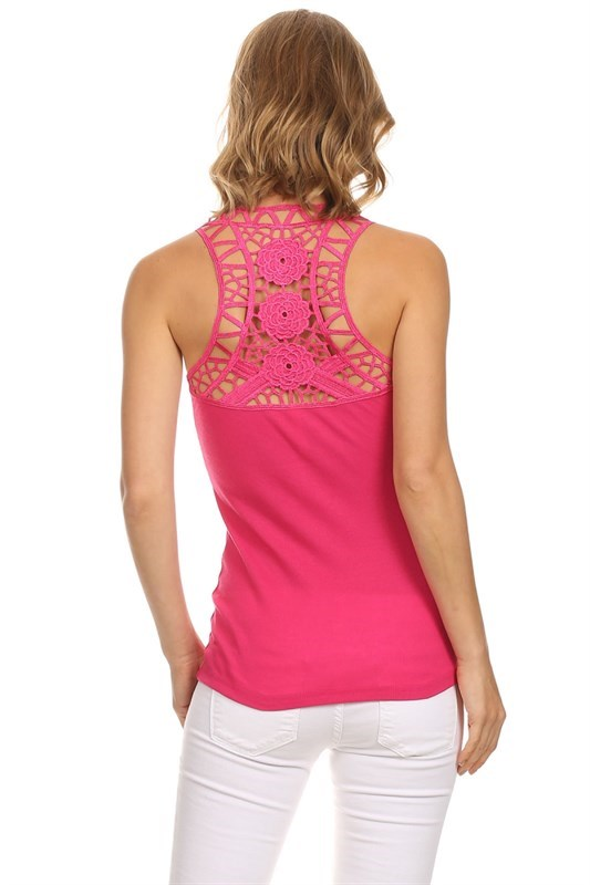 crochet back tanks