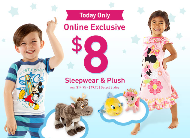disney store pajamas plush