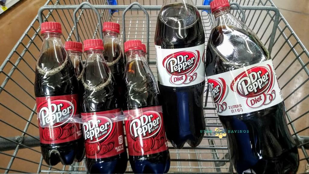 dr pepper in cart