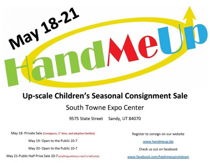 hand me up banner