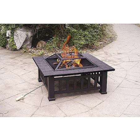 Alhambra Fire Pit with Cover