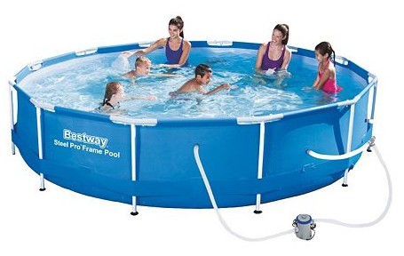 Bestway 12-ft. Steel Pro Frame Pool