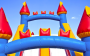 Bounce House or Castle with Slide Rental
