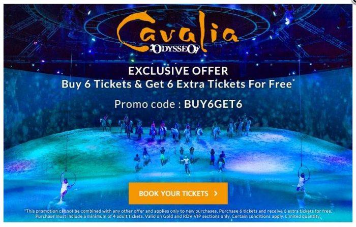 Cavalia discount