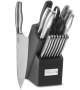 Cuisinart 17-Piece Artiste Collection Cutlery Knife Block Set, Stainless Steel