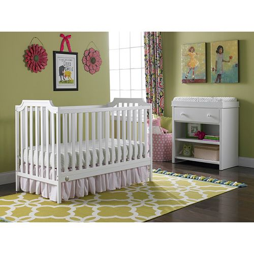 Fisher-Price® Providence 3-in-1 Convertible Crib white