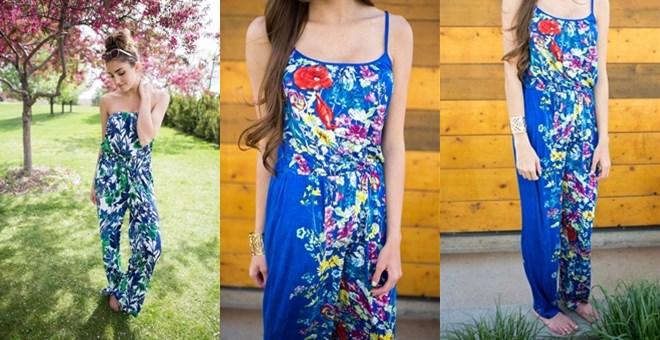 Floral Jumpsuits